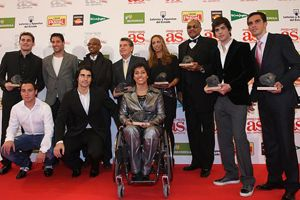 MARCOS SENNA acude a la Gala AS del Deporte Español 2008