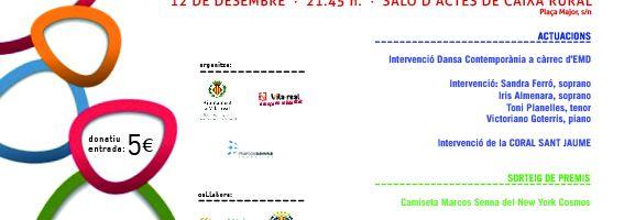 Benefit gala Marcos Senna Foundation