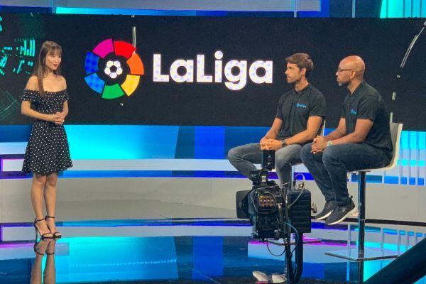 """Marcos Senna participó en el programa que """"La Liga"""" emite exclusivamente en China"""