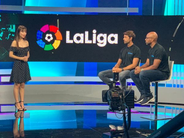 """Marcos Senna participated in the program that """"La Liga"""" broadcasts exclusively in China"""